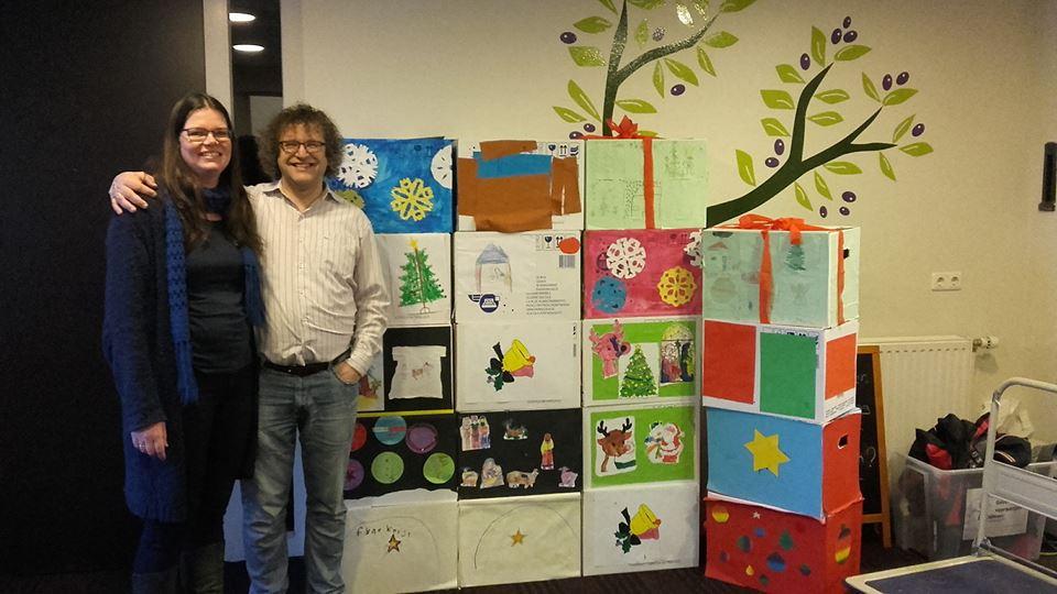 Kerstpakketten van EKC De Olijfboom voor onze gasten